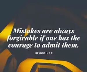 forgiveness, mistakes, and quotes image
