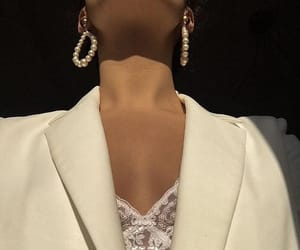 white, dior, and jewelry image