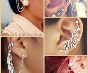 earings, sexy, and earring image
