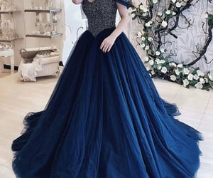 Prom, long prom dress, and prom dress image