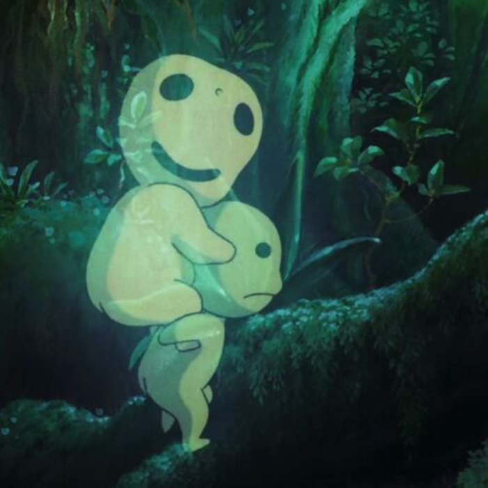 Image de anime, princess mononoke, and fantasy