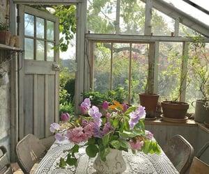 flowers and cottagecore image
