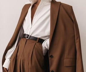 fashion, brown, and style image