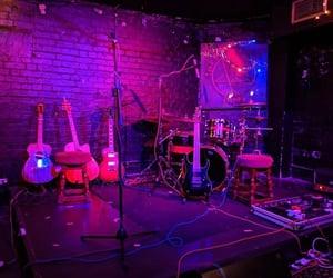 bar, lights, and live music image