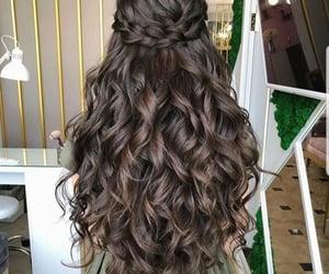hair style and beautiful fashion image