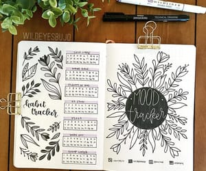 bullet journal, bullet journal ideas, and bujo spread image