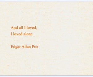 love, alone, and quotes image
