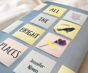 book, finch, and quotes image