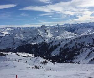 fun, mountains, and ski image