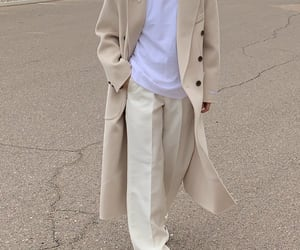 blogger, look, and beige coat image