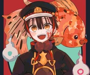 anime, fish, and hanako image