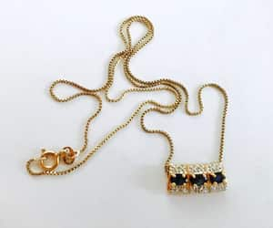 etsy, vintage jewelry, and italy 925 chain image