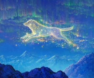 visionary art, gilbert williams, and aurora wolf image