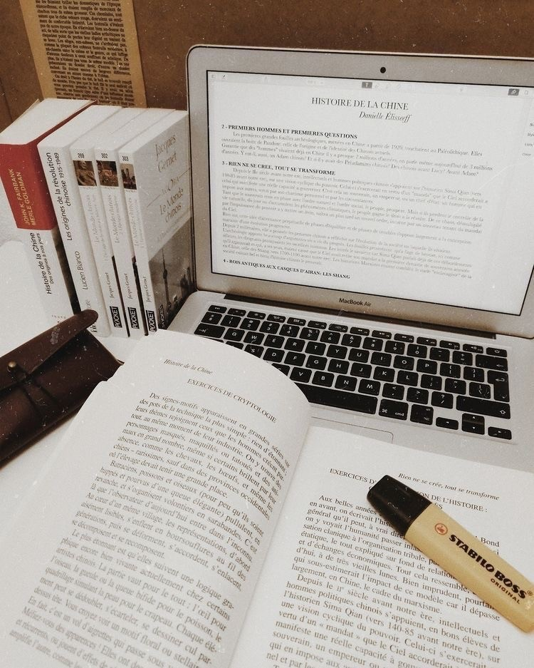 study, college, and book image