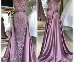 vintage prom dresses, robe de soirée, and elegant prom dress image