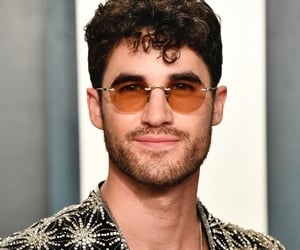 glee, darren criss, and american crime story image