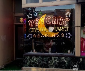 tarot, aesthetic, and psychic image