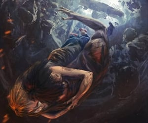 percy jackson, annabeth chase, and the mark of athena image