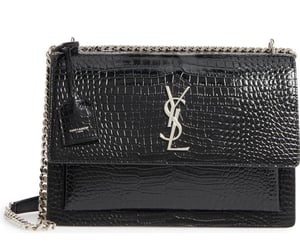 bags, mode, and Yves Saint Laurent image