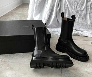 boots, bottega veneta, and fashion image