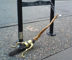harry potter and broom image