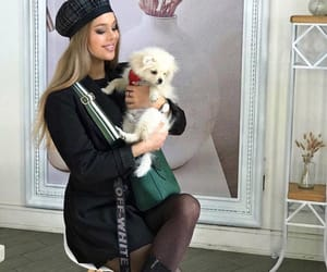 armenia, dog, and fashion girl image