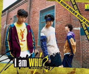 hyunjin, woojin, and stray kids image