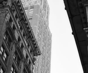 aesthetic, building, and black and white image
