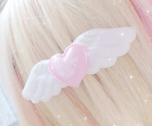 pink, aesthetic, and angel image