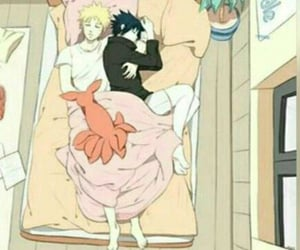bl, sasuke, and boy love image