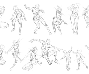 anatomy, proportion, and sketch image
