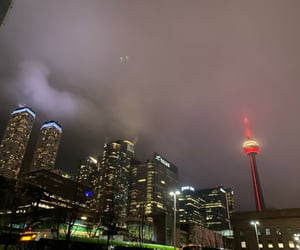 beautiful, CN tower, and love image