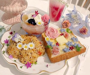 theme, food, and aesthetic image