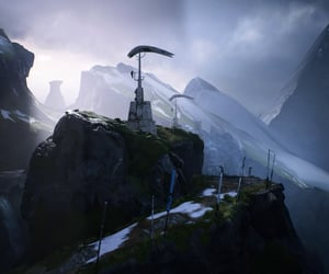 cold, exploration, and sci-fi image