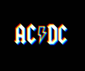 ac dc, concert, and drums image