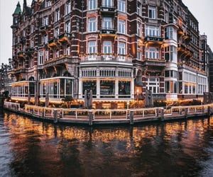 amsterdam, travel, and water image