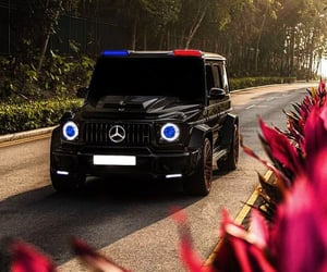 benz, black, and blue image