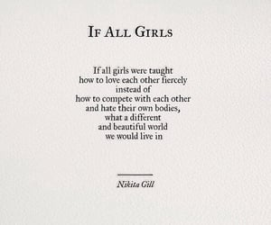 quotes, girl, and world image