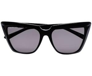 Balenciaga, black, and sunglasses image