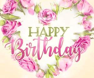 birthday, gif, and pink image