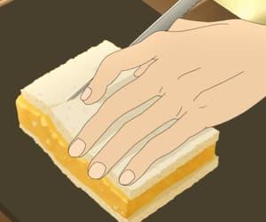 anime, anime food, and anime scenery image