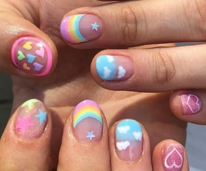 color and nails image