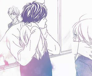 manga, ao haru ride, and love image