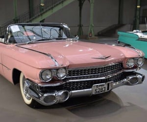 50s, cadillac, and luxury image