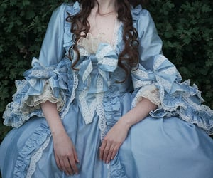 blue, costume, and fantasy image