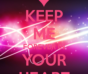 keep calm, pink, and we heart it image