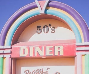 50s, pink, and retro image