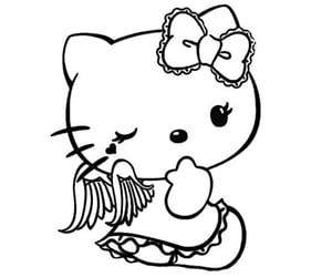 hello kitty and edit image