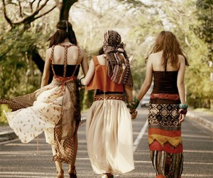 friends, hippie, and hipster image