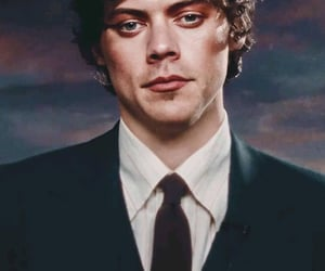 Harry Styles and makeup image